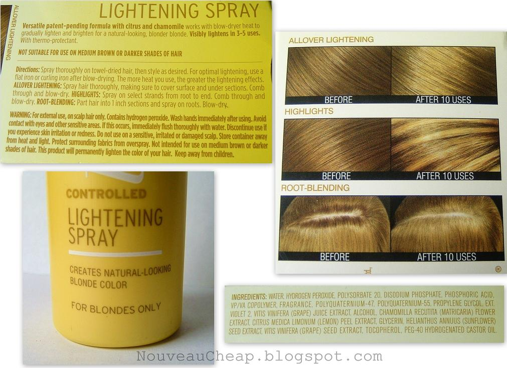 Review New John Frieda Go Blonder Controlled Lightening