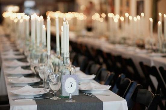 Centros de mesa con botellas de vino i - Centros de mesa caseros ...