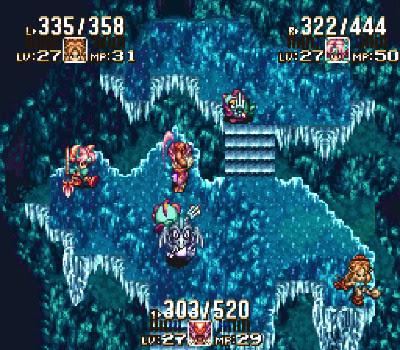Seiken Densetsu 3 - Sobre hielo
