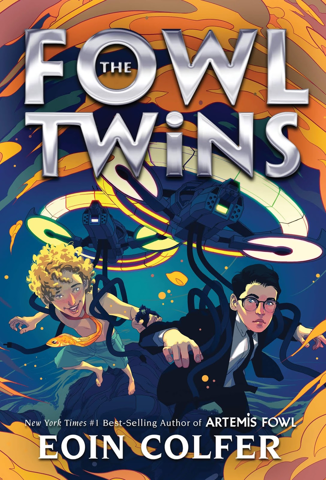 The Fowl Twins by Eoin Colfer