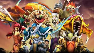 Legendary Heroes MOBA Mod