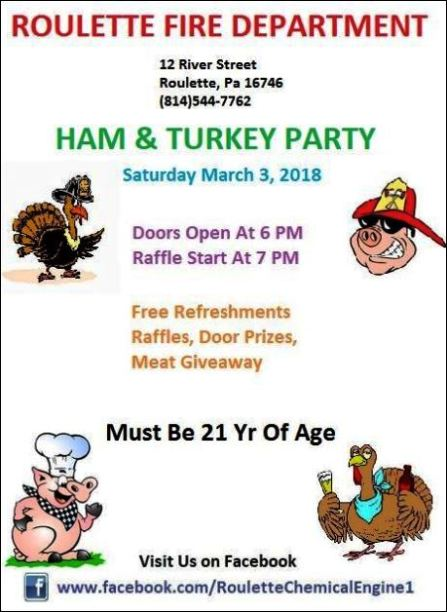 3-3 Ham & Turkey Party, Roulette VFD
