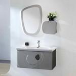 meuble de salle de bain pastel
