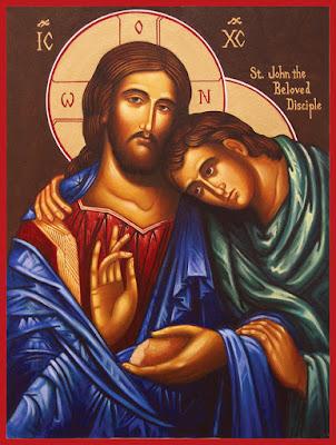 Discípulo Amado - Ícones para grupo de oração, seminário de vida no Espírito Santo e eventos