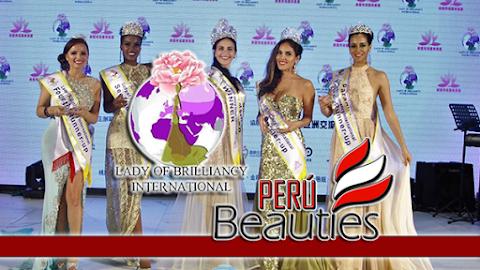 Señora Perú es finalista en Lady of Brilliancy International 2018