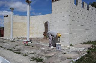 Realizada revitalização do acesso ao CES e castelos do Horto para encenação da Paixão de Cristo 2016, em Cuité