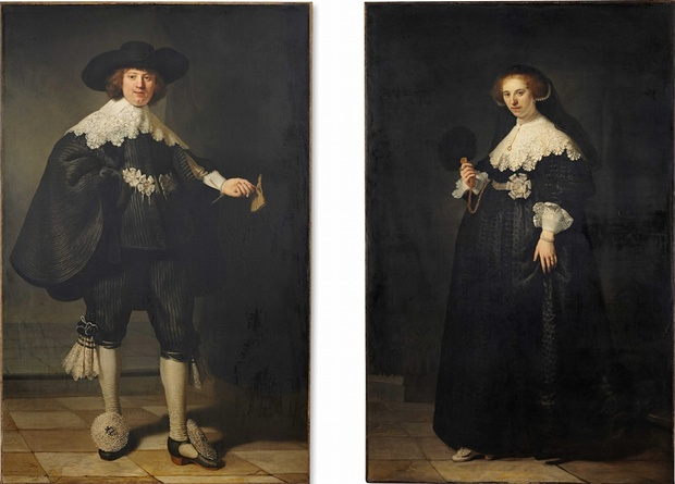 World's ten most expensive paintings/Pair of portraits of Maerten Soolmans and Oopjen Coppit, Rembrandt