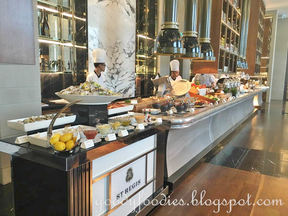 French Brasserie Chairs Mexican Hammock Chair Goodyfoodies: Sunday Brunch @ The Brasserie, St Regis Hotel Kl