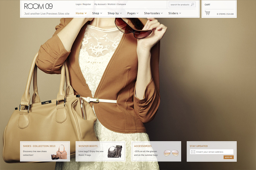 Room 09 WooCommerce Theme
