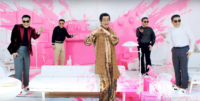 ppap singer and psy together