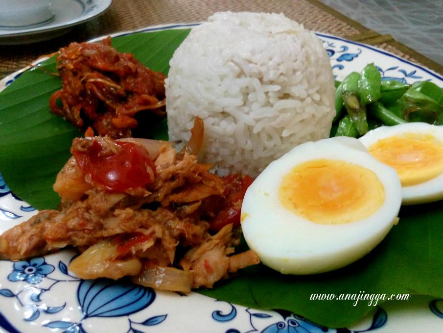 Mencari Kelainan Rasa Nasi Lemak Sambal Tuna Dari Ayam Brand - anajingga