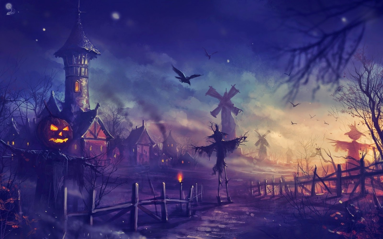 Happy Halloween 2014 Beautiful Wallpapers Collection 2018