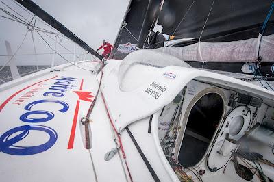 Jérémie Beyou se prépare à son 3e Vendée Globe