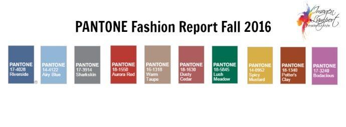 2016 Fashion Colour Trends