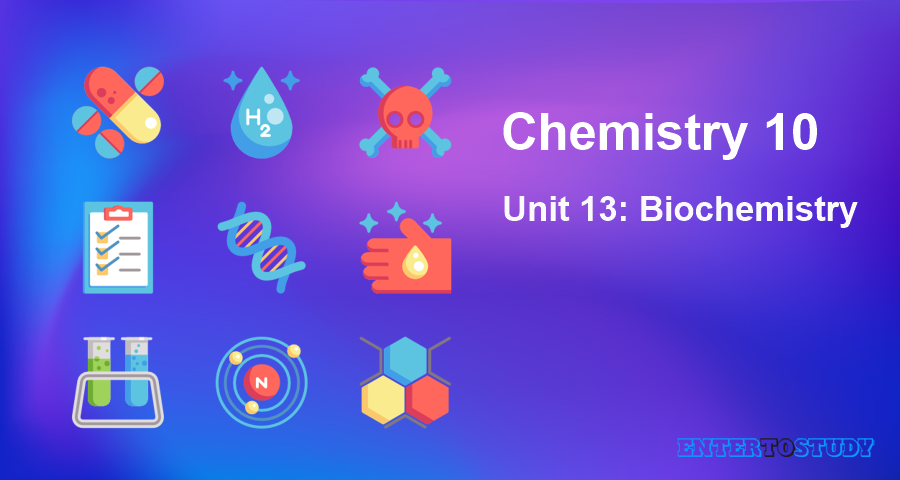 KIPS 10th Class Chemistry Notes Unit 13: Biochemistry