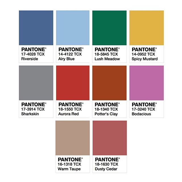 Pantone Fashion Color Report Fall  Pdf