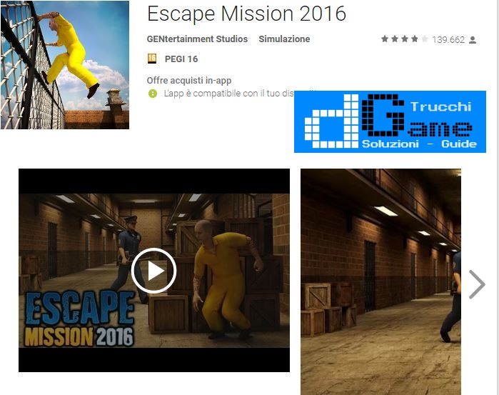 Soluzioni Escape Mission 2016 di tutti i livelli | Walkthrough guide