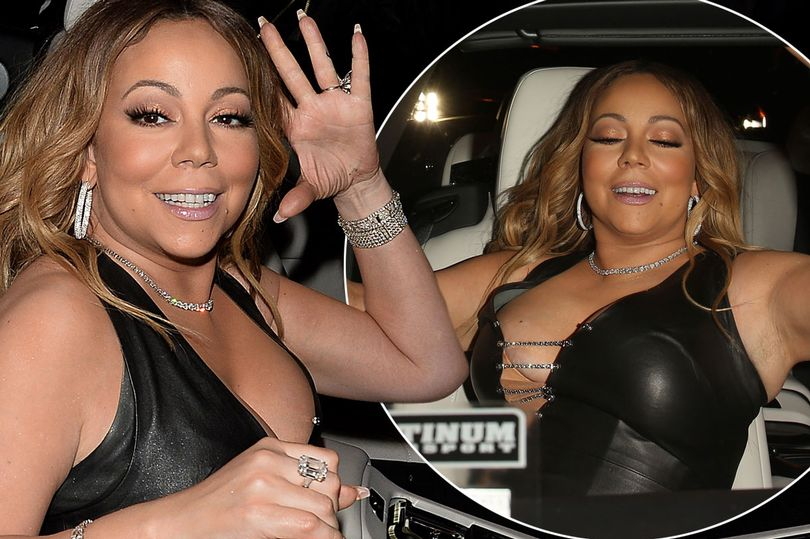 , Gossips: Mariah Carey cuts an exuberant figure as she flashes a serious amount of flesh in racy leather, Latest Nigeria News, Daily Devotionals & Celebrity Gossips - Chidispalace
