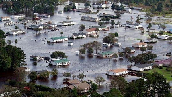Declaran emergencia en EE.UU. tras el paso de Florence
