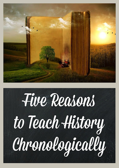 Five Reasons to Teach History Chronologically - Homeschool Coffee Break @ kympossibleblog.blogspot. for The Homeschool Post @ hsbapost.com