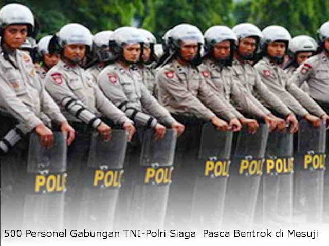 500 Personel Gabungan TNI-Polri Siaga Pasca Bentrok di Mesuji