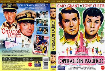 Carátula dvd: Operación Pacífico (1959) (Operation Petticoat)