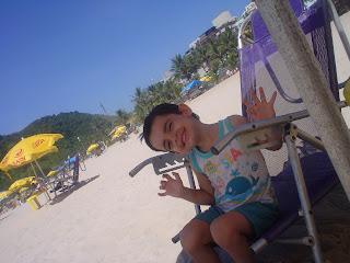 Medo de piscina / praia