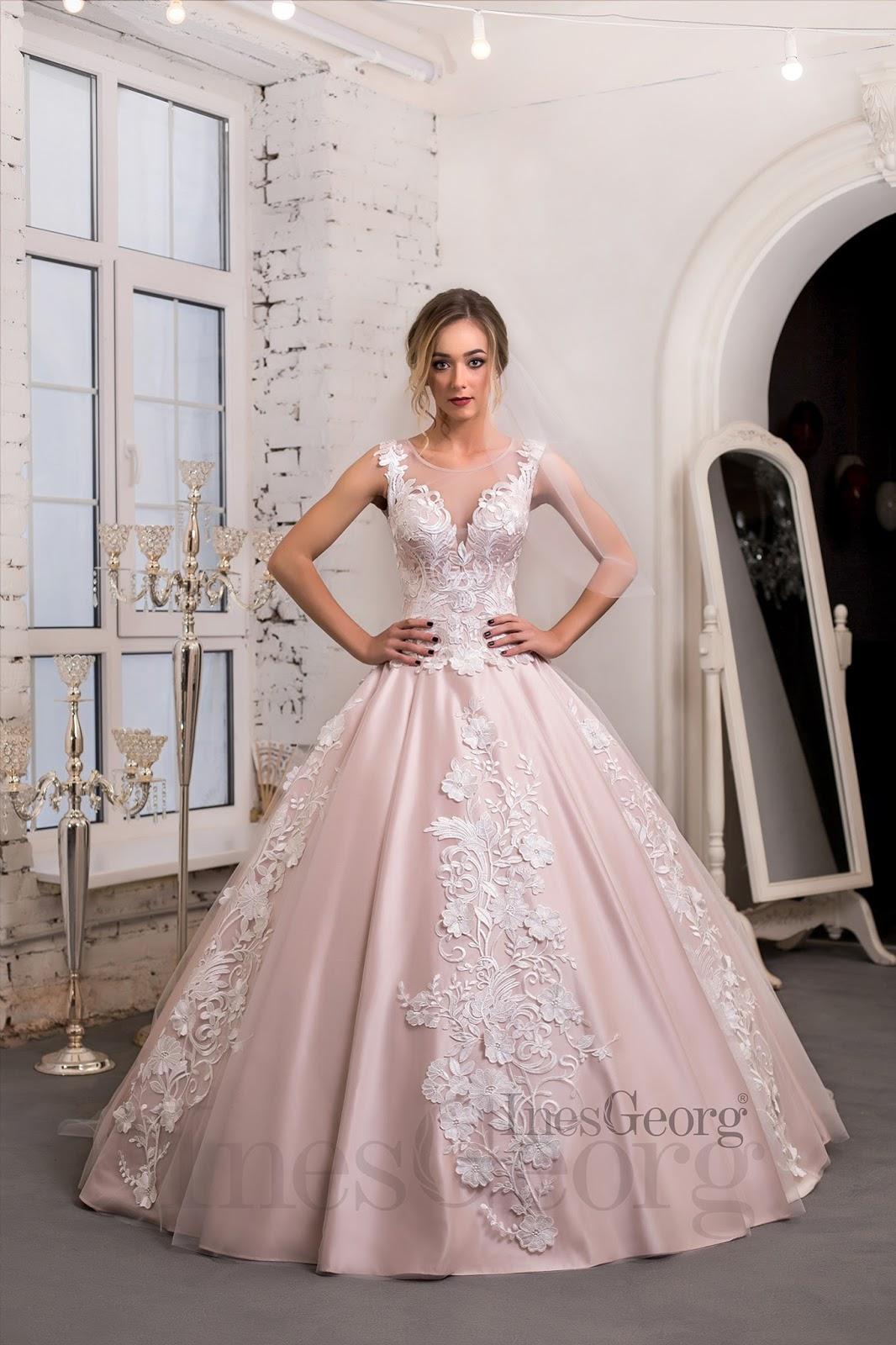 319e1733afe2 svadobné šaty Ines Georg - kolekcia 2018