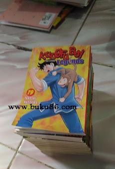 Komik Kungfu Boy Legend Bekas