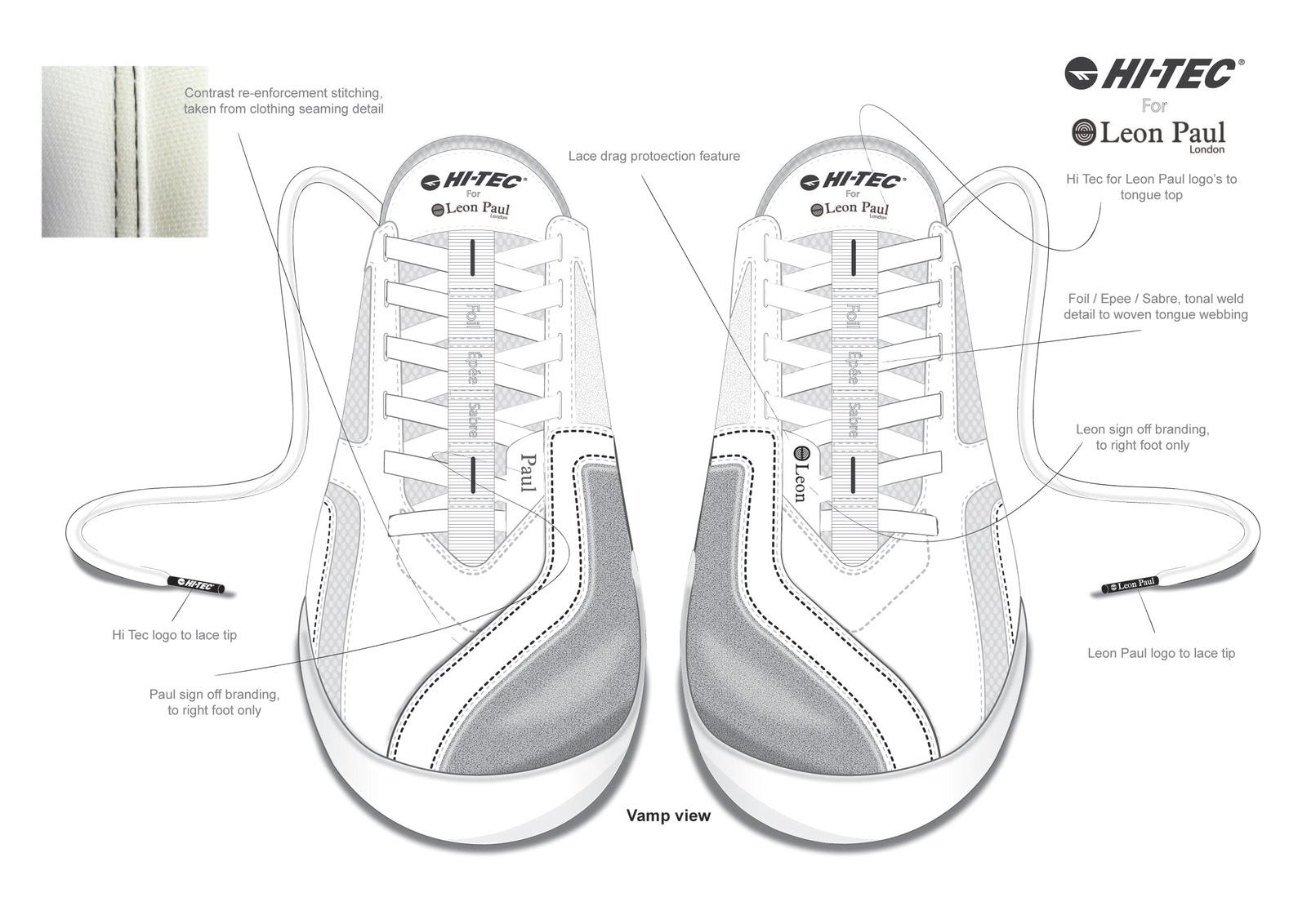 Leon Paul Hi Tec Design Collaboration