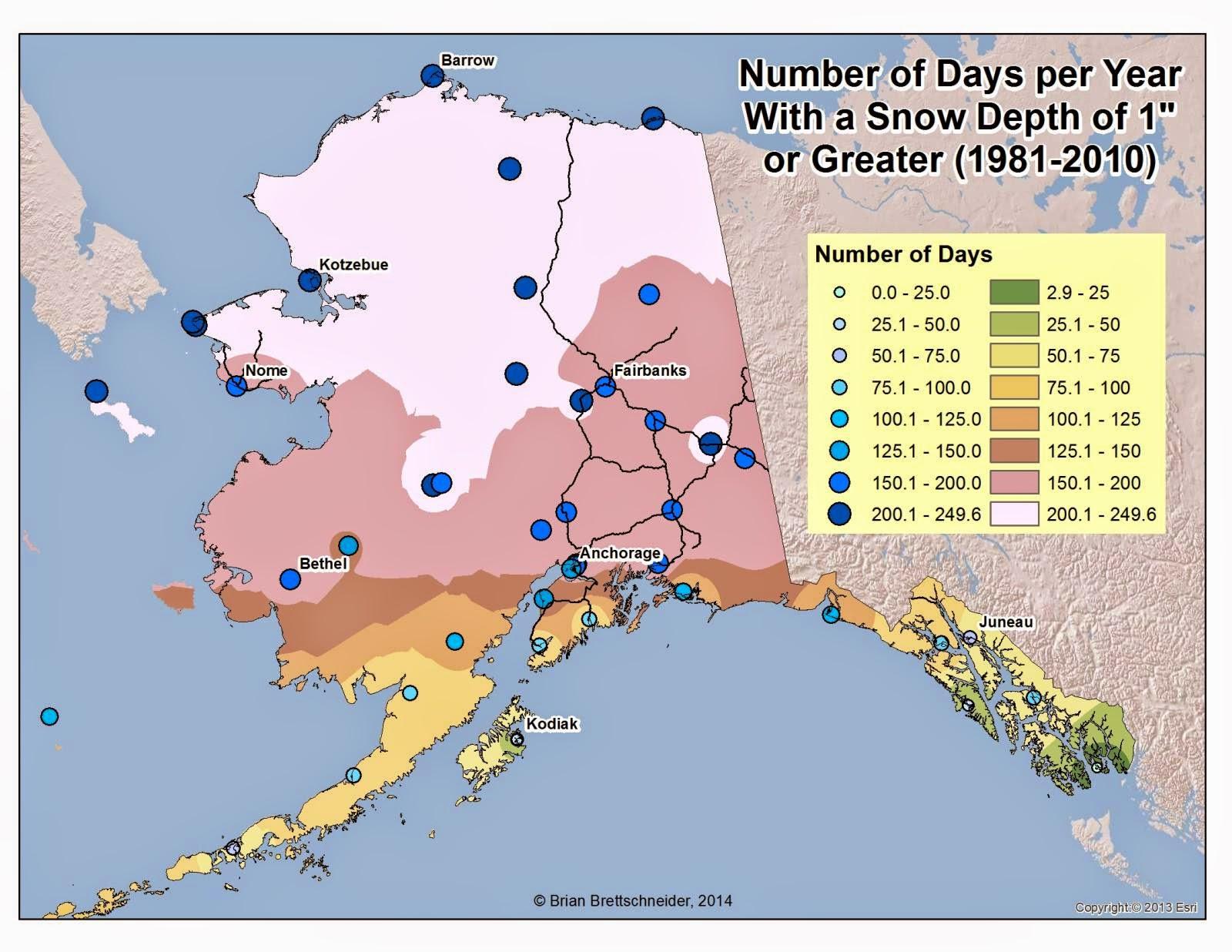Deep Cold: Interior And Northern Alaska Weather U0026 Climate