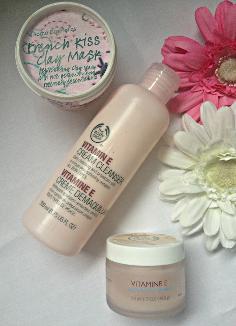 Current skincare routine, The Body Shop