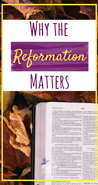 October 31st, 2017 is the 500th anniversary of the Protestant Reformation. For years I thought it was just another date in history, but I've come to realize that it matters a lot. Read the post to find out why.