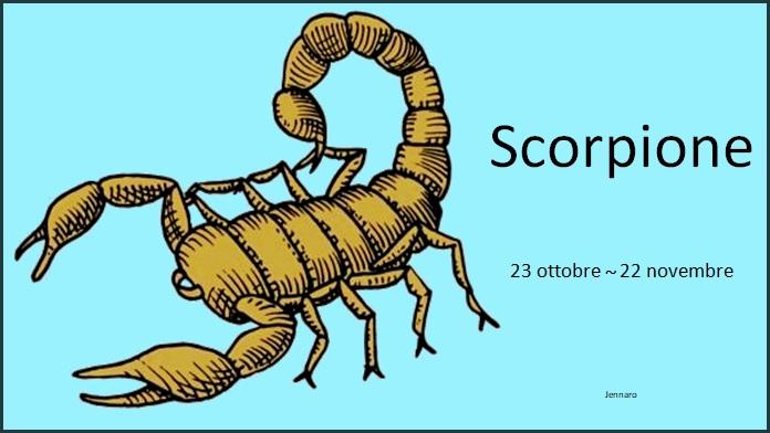 Oroscopo dicembre 2018 Scorpione