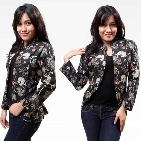 10 Blazer Batik Wanita Modern Untuk Anak Muda