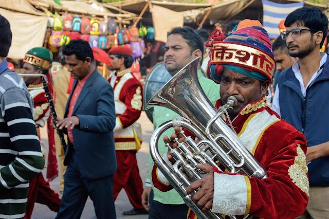 Marché à Agra