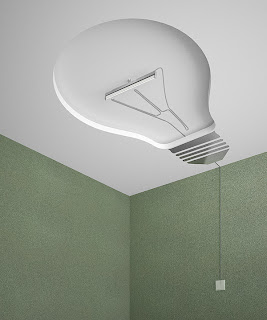 Bombillo y diseño de lampara