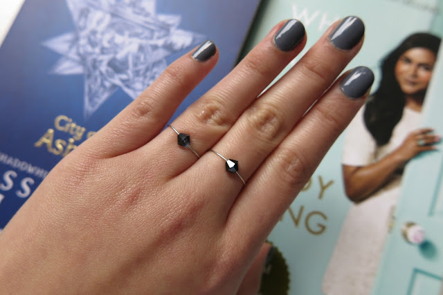 diy jewelled wire ring