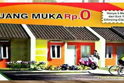 Rumah Tanpa DP Uang Muka 0 % Terbaru Di Tambun Bekasi Dekat Akses Toll Subsidi Pemerintah