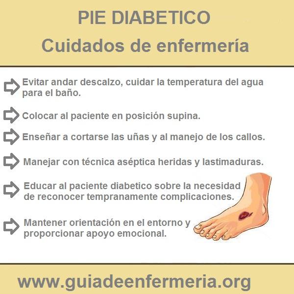 CUIDADOS DEL PIE DIABETICO - GUÍA DE ENFERMERÍA