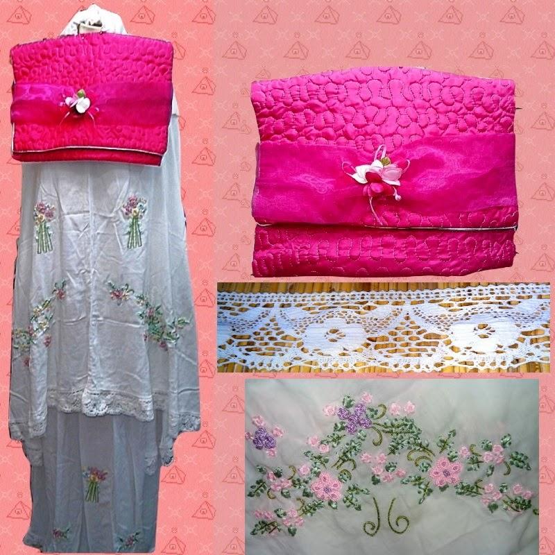 Mukena Katun Rayon Dilla Collection
