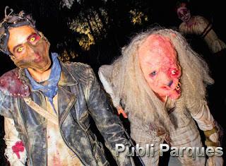Halloween Parque atracciones de Madrid 2016