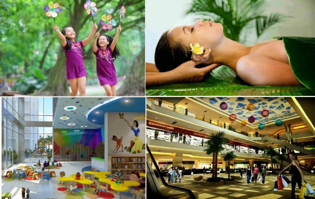 Hệ thống tiện ích dự án chung cư The K Park Hà Đông