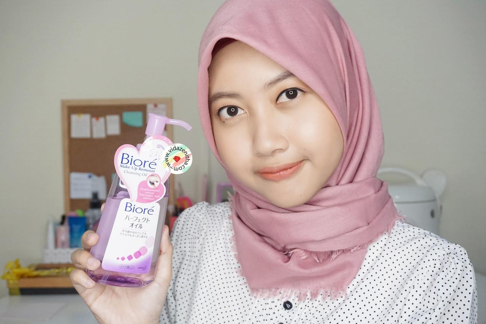 recommended cleansing oil dari biore