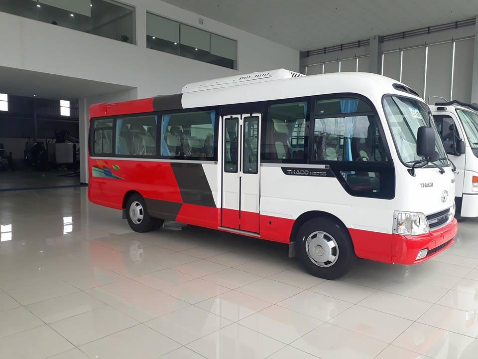 Xe khách 29 chỗ ngồi tại Hải Phòng giá tốt cạnh tranh