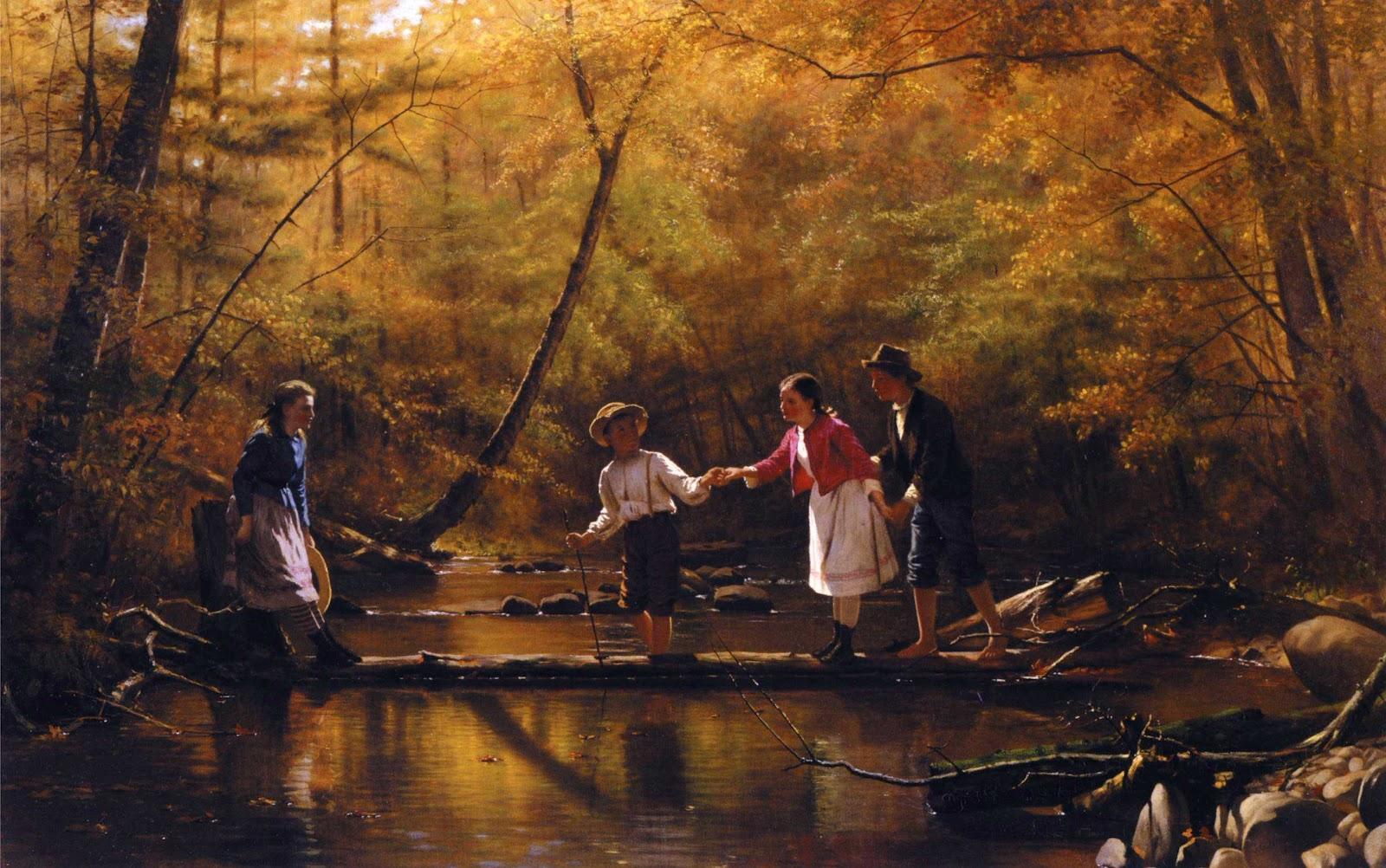19th Century American Paintings John George Brown Ctd