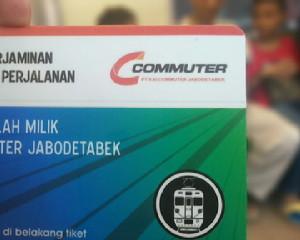 Tiket KRL, cara naik KRL terbaru
