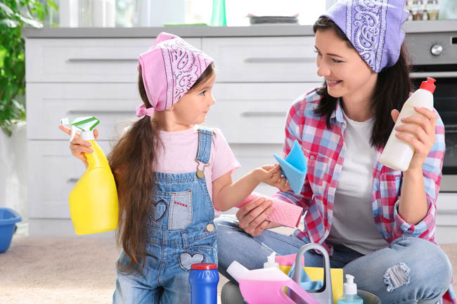5 Secrets To Get Kids To Help With Housework