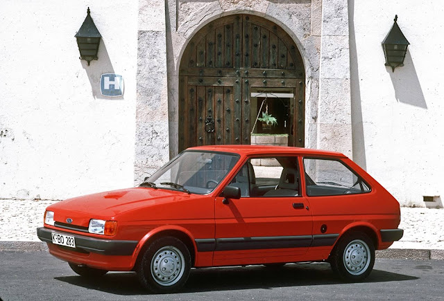 Ford Fiesta Segunda geração (1983-1989)