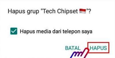 √ Cara Menghapus Grup WhatsApp Permanen Sebagai Admin